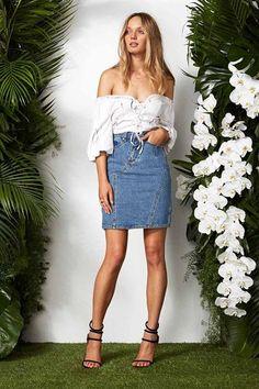 5363ce51adb0 Maurie   Eve- Do Jour Skirt by Matilda Australia