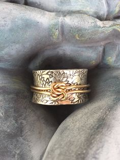 Items op Etsy die op Spinner Ring/meditatie Ring lijken