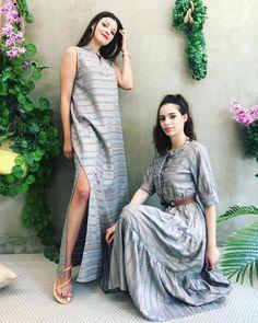 Maxi or midi 🌾Greek lovers dress ? #greekdesigner #greekbrand #islandoutfit Office Outfits, Office Wear, Lover Dress, Island Outfit, Best Facebook, Greek, Sari, Lovers, Plaid