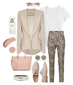 """""""Lovely day"""" by christawallace ❤ liked on Polyvore featuring Horny Toad, Hebe Studio, Isabel Marant, Gap, Alexis Bittar, Christian Louboutin, Burberry, Jimmy Choo and Ralph Lauren"""