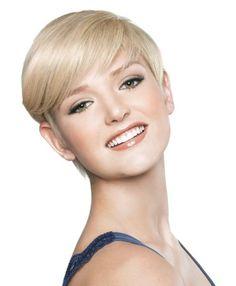 America Next Top Model: peinado corto con flequillo lateral... <3