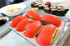 Sushi night made at home!