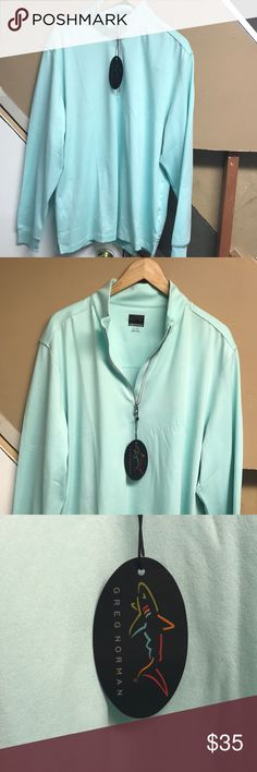 Greg Norman Pullover Size XL BRAND NEW W TAGS Greg Norman Pullover Size XL BRAND NEW W TAGS Beautiful shirt ~ $70 shirt greg norman Shirts