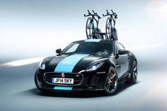 Jaguar F Type R Tour de France