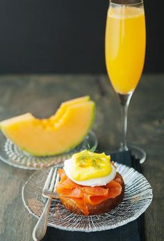 Lox eggs benedict