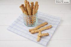 Espirales de queso y mostaza