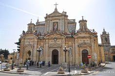 St. Paul Cathedral, Rabat, Malta My grandparents were married here pre-1920