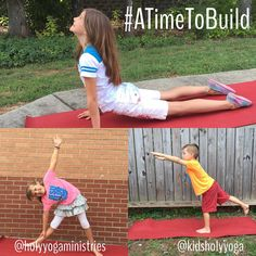 We are looking forward to the #atimetobuild challenge with @holyyogaministries for September! We hope #holyyogis of all ages will join in! Starts 9/1. Tag us in your posts, kids! We want to see you shine! ⭐️ #holyyoga #kidsholyyoga #prayerfulandplayful #kidsholyyogis #kidsyoga #christianyoga #christianyogaforkids #holyyogaministries #yogainspiration