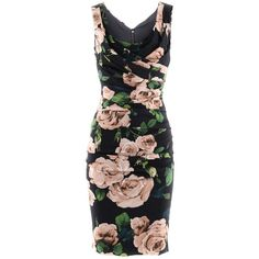 Not a fan of flowers but the fit of this Dolce & Gabbana Black Roses Ruffle Dress would be fierce on Me!