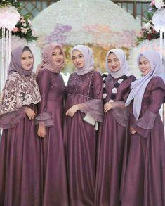 Gallery Beautiful Hijaber and Sexy - Sejuta Muslimah Dress Brukat, Hijab Dress Party, Hijab Style Dress, Batik Dress, Saree Dress, Wedding Abaya, Muslimah Wedding Dress, Hijab Wedding Dresses, Modern Hijab Fashion
