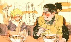 Naruto and iruka sensei Naruto Uzumaki, Anime Naruto, Naruto Run, Madara Uchiha, Gaara, Kakashi, Manga Anime, Naruhina, Shikamaru