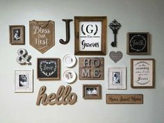 Hobby lobby rustic decor farmhouse rustic inspired gallery wall hobby lobby off sales for the win Rustic Walls, Rustic Wall Decor, Farmhouse Decor, Rustic Gallery Wall, Gallery Walls, Rustic Wood, Key Wall Decor, Kitchen Gallery Wall, Gallery Wall Bedroom