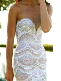 Scalloped Lace Dress, what my wedding dress will look like if I have to make it myself Yes To The Dress, Dress Me Up, Dresses 2013, Formal Dresses, Formal Prom, Costume, Mode Outfits, Looks Style, Mode Style
