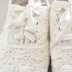 Lace shoes <3