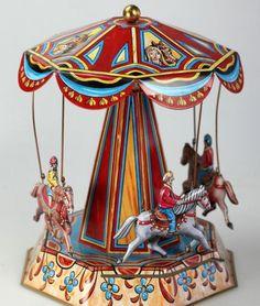 Vintage Toy Carousel