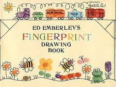 thumbprint art | ... and did a fun fingerprint art activity with inspiration from this book