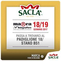 Non mancate al Marca presso Bologna Fiere.