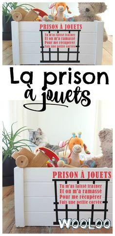 Motivez les enfants à se ramasser avec ma prison à jouets #momhack #trucs #astuces #enfants #jouets