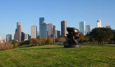 houston skyline | Houston Skyline Allen Parkway