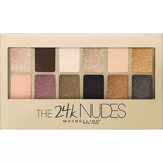 maybelline the 24k nudes paleta de sombras