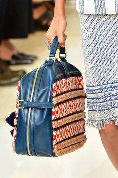 Its all in the Bag at #suitcase @Tory Burch #MBFW