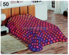 Ciepłe kolorowe koce na łóżka dla dzieci
