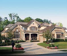 Award Winning Craftsman Manor - 17532LV | Architectural Designs - House Plans