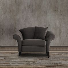 This plush armchair exudes a transitional-style frame design, gray velvet upholstery options and amazing value into one perfect package to get the stylish design and durable decor you deserve.