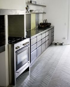 Inspiration til køkkengulvet | BoligciousBoligcious