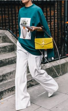 Spring Style: wide leg trousers