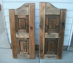 Saloon doors Fun decor item for a western style home.us Brooke can you build for me? Western Saloon, Western Style, Western Bar, Western Bedroom Decor, Western Rooms, Western Bedding, Ana White, Saloon Decor, Westerns