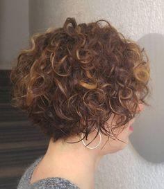60 Most Delightful Short Wavy Hairstyles. Short Curly Brunette Bob … Short Curly Cuts, Short Curly Styles . Short-Curly- Hair-Older-Women Popular Short Short Curly Bob, Haircuts For Curly Hair, Curly Hair Styles, Cool Hairstyles, Wedding Hairstyles, Hairstyles 2018, Medium Hairstyles, Medium Curly, Pixie Haircuts