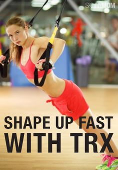 Tighten and tone with this TRX workout.