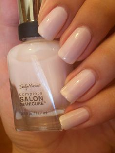 """Too sheer in my opinion. Needs three coats and then won't dry Sally Hansen - """"Pink Slip"""""""