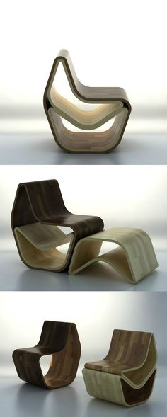 Modular Chairs That Combine Into One