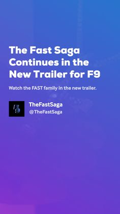 The Fast Saga Continues in the New Trailer for by TheFastSaga Movie Gifs, New Trailers, Saga, News, Movies, Films, Cinema, Movie, Film