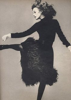 1970, Loulou de la Falaise, Vogue, photographed by Richard Avedon