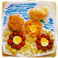 Funny Food Friday Funny Food, Food Humor, Bento, Waffles, Friday, Breakfast, Kids, Morning Coffee, Young Children