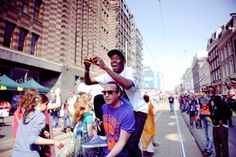 Tyler the Creator in Amsterdam, Queensday 2011