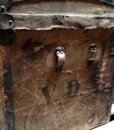 FleaingFrance Brocante Society  Vintage French Trunk