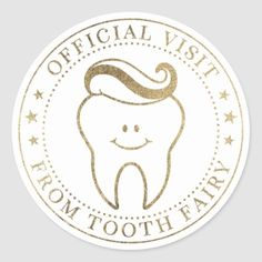 Round Stickers, Cute Stickers, Tooth Fairy Doors, Cute Tooth, Tooth Pillow, Fairy Gifts, Gifts For Dentist, First Tooth, Online Gifts