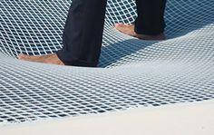 Katamaran-Netze von Trampolin Technik