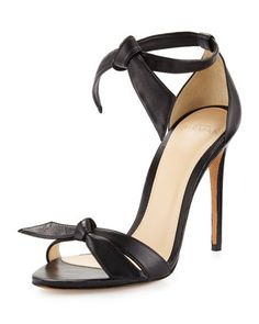 f4161671c48c Clarita+Leather+Ankle-Tie+100mm+Sandal
