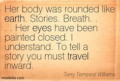 Terry Tempest Williams Quotes | QUOTES AND SAYINGS ABOUT earth