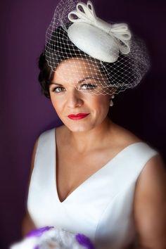 Beautiful bride Aoife Kelly wearing a headpiece by Jennifer Wrynne #jenniferwrynnedesigns #bridal #wedding #hats #headpieces #millinery #weddingstyle #weddinginspiration