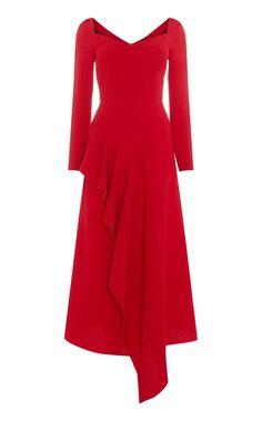 Blackwater Long Sleeve Wool Dress in Red Elegant Dresses Classy, Elegant Dresses For Women, Fabulous Dresses, Classy Dress, Nice Dresses, Classy Casual, Classy Chic, Skirt Fashion, Fashion Dresses