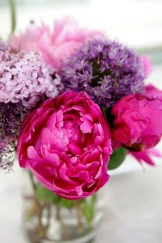 Lilacs and Peonies - Heavenly!