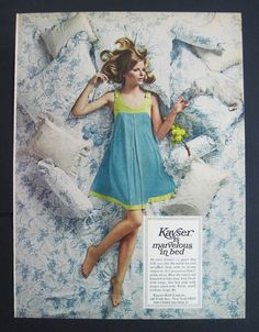 Items similar to Sleeping Beauty Blonde Girl Kayser Roth Lingerie 1968 Print Ad on Etsy Little Doll, Blonde Beauty, Print Ads, Assessment, Sleeping Beauty, Nyc, Glamour, Lingerie, Summer Dresses