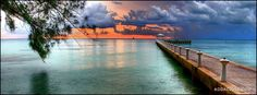 Beach Sunset Facebook Cover