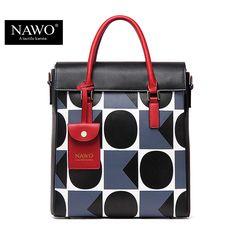 NAWO 2016 유명한 디자이너 브랜드 가방 여성 가죽 핸드백 높은 품질의 어깨 가방 큰 여성 손 가방 토트 여성 Blosas